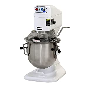 Globe Food SP8 Electric 8 Qt Gear Driven Mixer w/ 3 Fixed Speeds