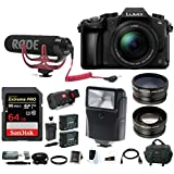 Panasonic LUMIX DMC-G85MK 4K Mirrorless Lens Camera Kit (Rode Mic Vlogging Kit)