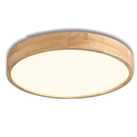 36W Lámpara de techo rústica retro Lámpara LED Lámpara de ...