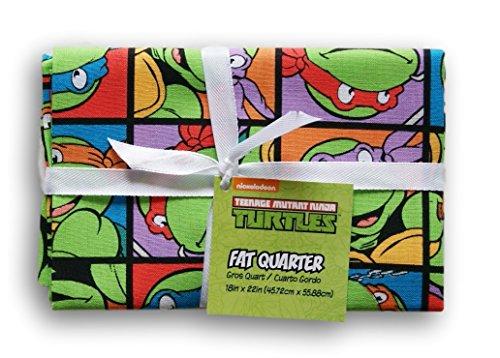 Teenage Mutant Ninja Turtles Fat Quarter (18 x 22) -