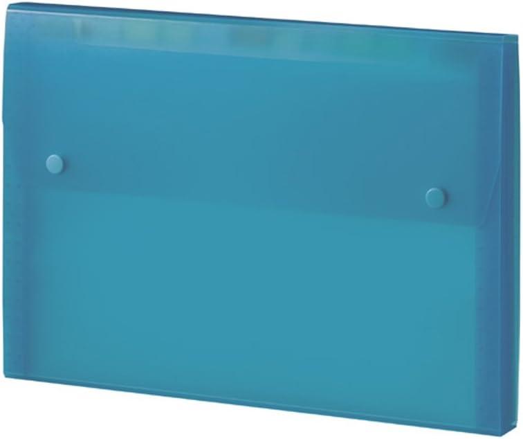 japan import Budgerigar security Mac document file A4 12 13 partition pocket Blue MA-2111-10