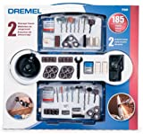 Dremel 700-01 185-Piece Rotary Tool Accessory Kit