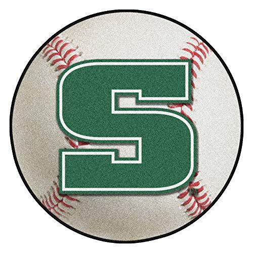 FANMATS NCAA Slippery Rock University Rock Nylon Face Baseball Rug