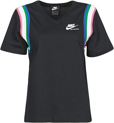 aritmética Espesar Enriquecimiento  NIKE Air Camiseta Mujer - algodón: Amazon.es: Ropa y accesorios
