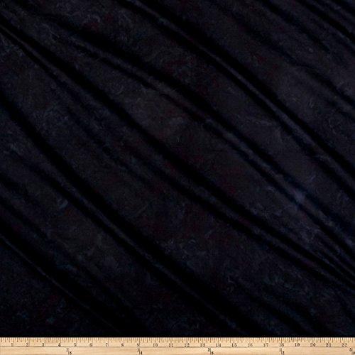 Hoffman Fabrics Bali Batik Watercolors Black Yard -