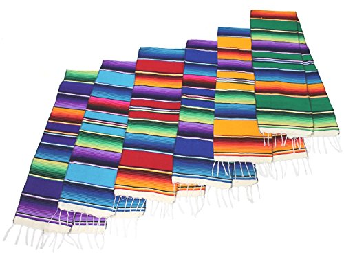 Mexican Serape Table Runner 72