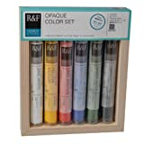 Product review for R&F Handmade Paints Pigment Sticks, Opaque Colors, Set Of 6