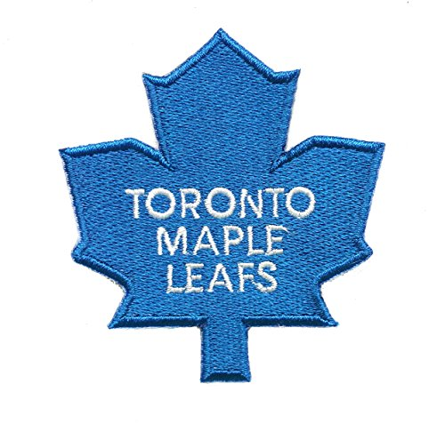 Maple Leafs Embroidered Sew/Iron On Patch 3