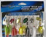 South Bend Lunker Trout and Panfish Spinner Kit, Outdoor Stuffs