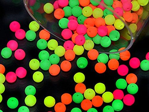 100pcs-4-mm-czech-glass-round-pressed-beads-estrela-neon-uv-active-warm-neon-mix