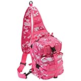 Extreme Pak Pink Digital Camo 11'' Sling Backpack by Extreme Pak&Trade;