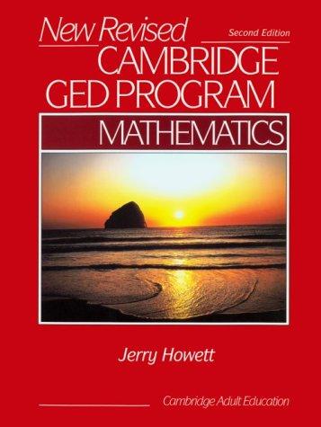 New Revised Cambridge Ged Program: Mathematics