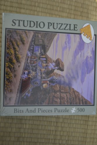 (Bits and Pieces 500 Piece Studio Puzzle : Portrait At Pulpit Rock by Marc Desobeau)