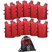 SportsRepublik Pinnies Scrimmage Vests Kids, Youth Adults...