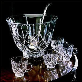 Ladyanne Punch Bowl With Ladle