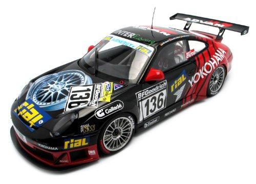 AUTOart 1/18 レーシングシリーズ ポルシェ 911(996) '05 GT3 RSR #136 (ヨコハマ) 完成品 B000ULQC38