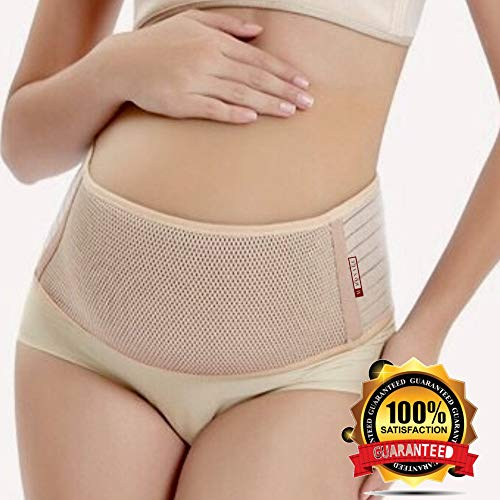 #1 Original Maternity Belt Low Back Pelvic Support by MONALE - Breathable Belly Band, Fully Adjustable Pelvic Support Belt for Pregnancy and Postpartum - One Size, - Back Prenatal Support