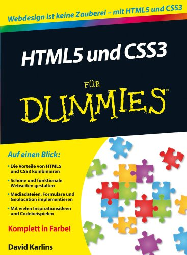 Download HTML5 und CSS3 für Dummies (German Edition) Pdf