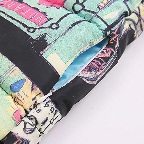 Top Vestes Chaud a Doudoune Coton Outdoor À Blousons Manteau Longues Osyard Blouse Femme Manches Marron D'hiver Capuche Dames P8T16q