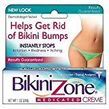 Bikini Zone Medicated Creme for Bikini Area 1 oz (Pack of 2)