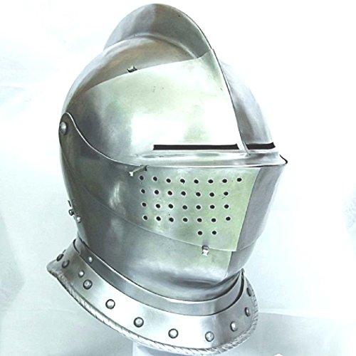 ANTIQUECOLLECTION Armet Closed Helmet 16th Century