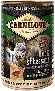 Carnilove Wild Meat Duck & Pheasant, Comida Humeda para Perro, 400 Gr - 400 gr