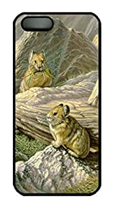 Art Mountain Haymakers - Pika Back Case For Sam Sung Note 2 Cover (526 art) _618033