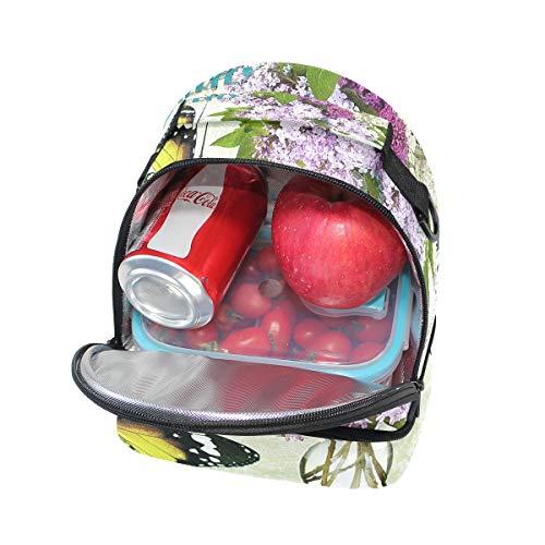 aislamiento y de con hombro correa Bolsa para ajustable Alinlo almuerzo la Pincnic de para escuela el qHSxIwB1X
