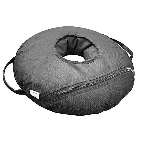 (Abba Patio 22'' Round Umbrella Base Weight Bag Up to 55lbs, Detachable Easy Fill Umbrella)
