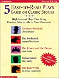 5 Easy-to-Read Plays Based on Classic Stories, Grade 5, Scholastic, Inc. Staff, 0439044154