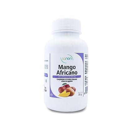 SANON Mango Africano 120 cápsulas de 650 mg