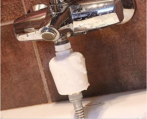 summitlink bathroom in line shower head filter water softener purifier chlorine remover. Black Bedroom Furniture Sets. Home Design Ideas