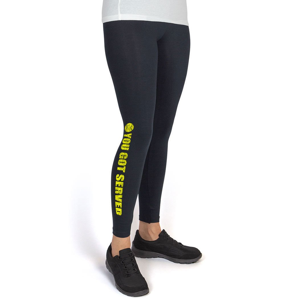 You Got Served ChalkTalkSPORTS Multiple Colors /& Sizes Tennis Leggings