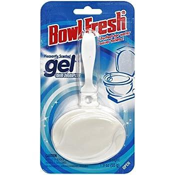 Amazon Com Bowl Fresh Gel Toilet Bowl Deodorizer 3