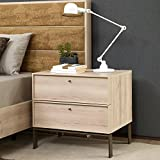 Adam and Illy VAL0685 Valentin Nightstand, Iconic Oak