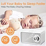 Qualitell White Noise Machine with 7 Non-looping