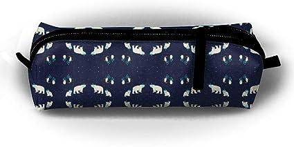 Arctic Stars – Papel pintado simple Ox bolsa de tela, estuche con Necities diarios, se puede llenar con bolsas de cosméticos: Amazon.es: Oficina y papelería