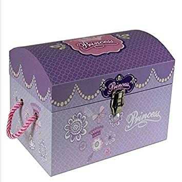 Kids Kinder Prinzessin Spielzeug Aufbewahrungsbox Schatztruhe Mädchen  Geschenk Trunk Medium/Betten Schlafzimmer Tisch Sets Möbel