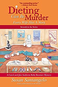 Dieting Can Be Murder by Susan Santangelo ebook deal