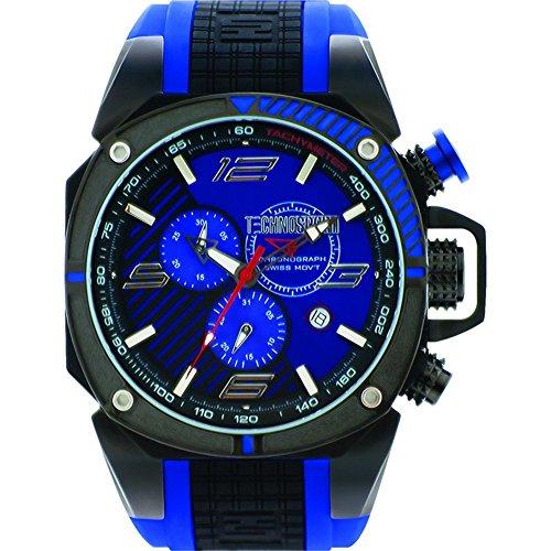 TechnoSport Men's Chrono Watch - FORMULA black / blue