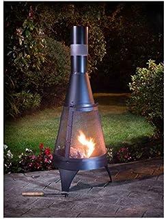Chiminea Outdoor Fireplace Madrid Free Shipping Amazon Co Uk
