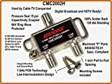 Best Coax Splitters - Antronix CMC2002H 2-Way- (3) Pack - Horizontal Splitter Review