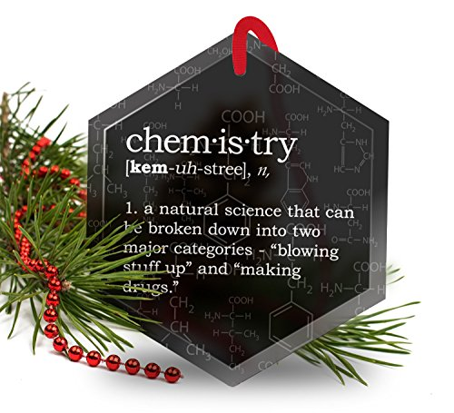 Funny Chemistry Definition Christmas Ornament product image