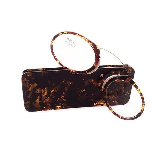 5 opinioni per JUNDASI Pince Nez occhiali da lettura Mini occhiali da