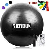 FEIERDUN Thick Anti-Burst 55cm Yoga Stability Ball