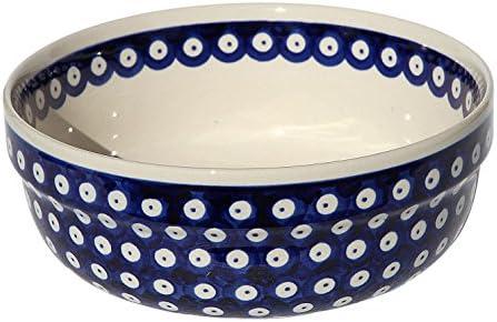 Polish Pottery Bowl 8 Inch Diameter from Zaklady Boleslawiec 835//42