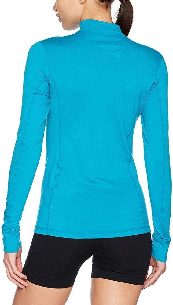 Ortovox Femme 145/Ultra Zip Neck T-Shirt M Aqua