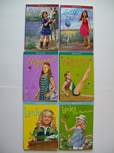 american-girl-today-set-of-6-saige-paints-sky-mckenna-ready-to-fly-lanies-real-adv