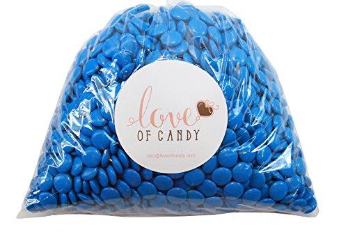 Love of Candy Bulk Candy - Blue Mint Chocolate Lentils - 2lb