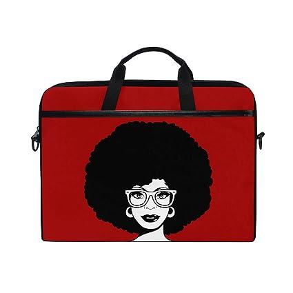 fd92173e2771 Amazon.com: Laptop Case, African American Woman, Laptop Shoulder ...